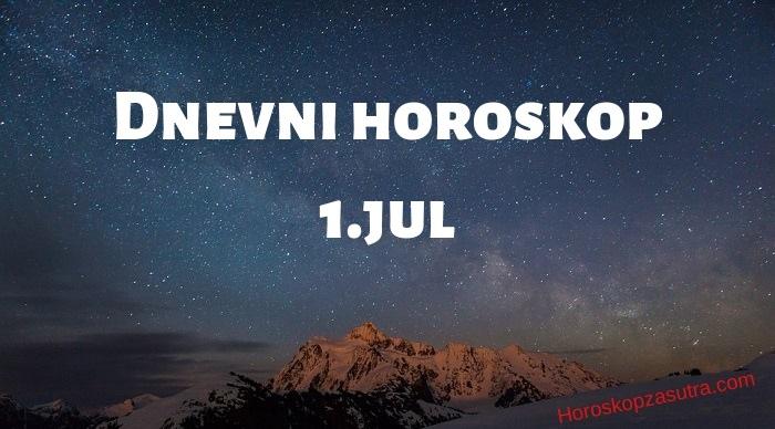 Dnevni horoskop za 1.jul 2019