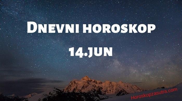 Dnevni horoskop za 14.jun 2019