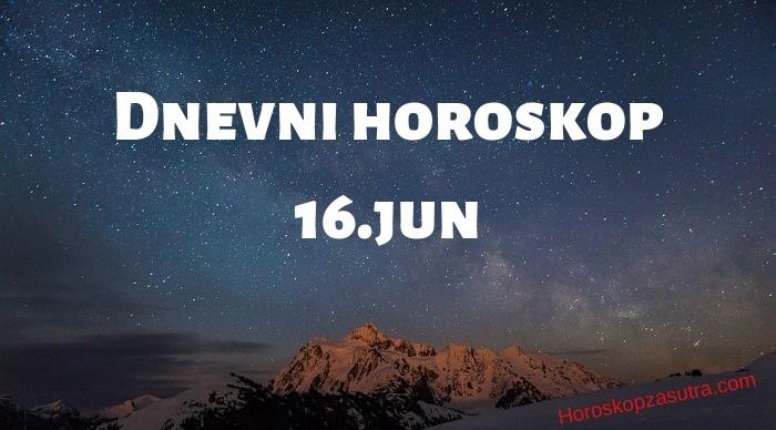Dnevni horoskop za 16.jun 2019