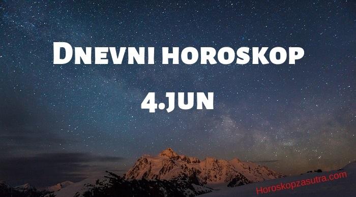 Dnevni horoskop za 4.jun 2019