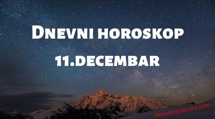 Dnevni horoskop za 11.decembar 2019