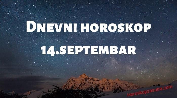 Dnevni horoskop za 14.septembar 2019