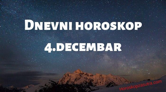 Dnevni horoskop za 4.decembar 2019