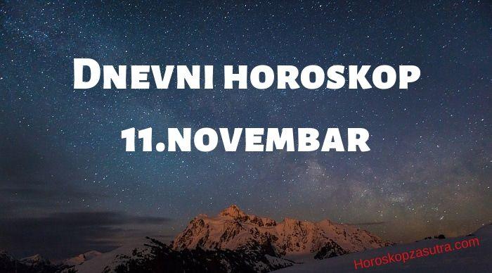 Dnevni horoskop za 11.novembar 2019
