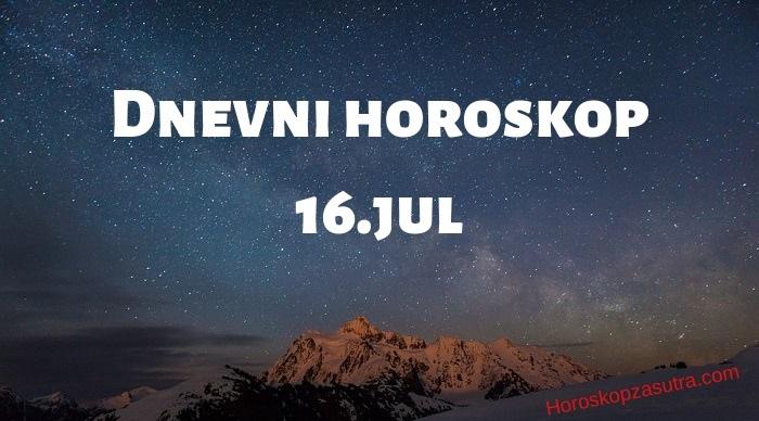Dnevni horoskop za 16.jul 2019