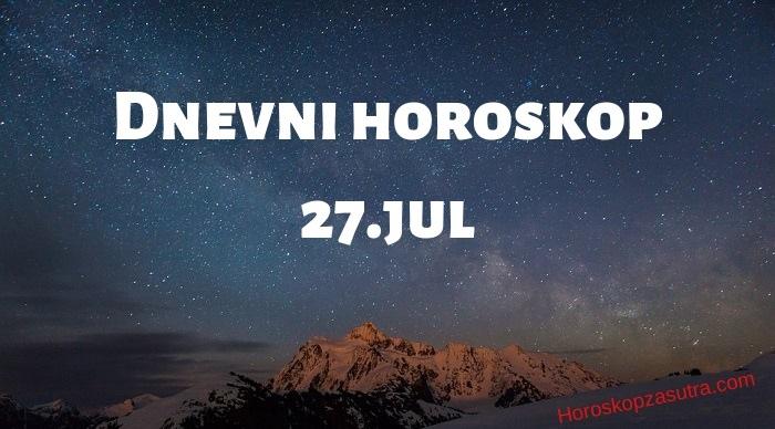 Dnevni horoskop za 27.jul 2019