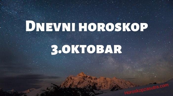 Dnevni horoskop za 3.oktobar 2019