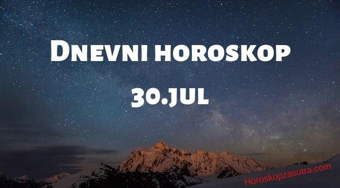 Dnevni horoskop za 30.jul 2019