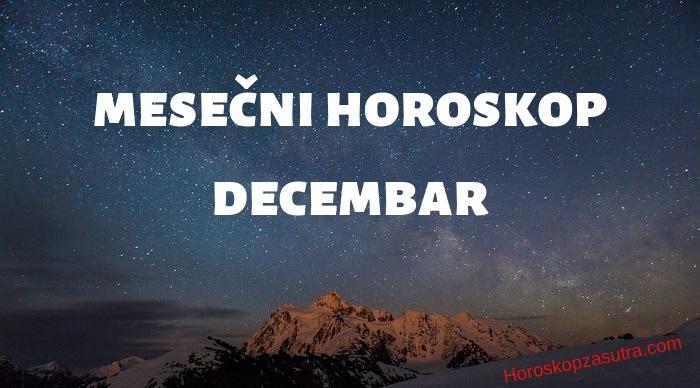 Mesečni horoskop za decembar 2019