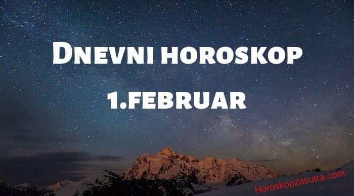 Dnevni horoskop za 1.februar 2020