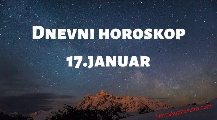 Dnevni horoskop za 17.januar 2020