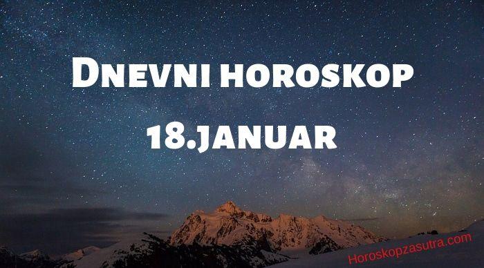Dnevni horoskop za 18.januar 2020