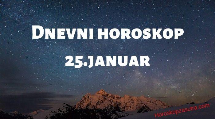 Dnevni horoskop za 25.januar 2020