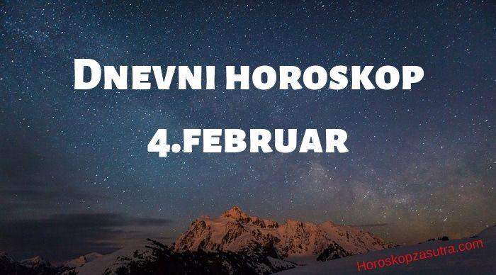 Dnevni horoskop za 4.februar 2020