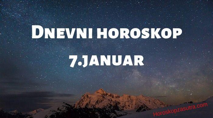 Dnevni horoskop za 7.januar 2020