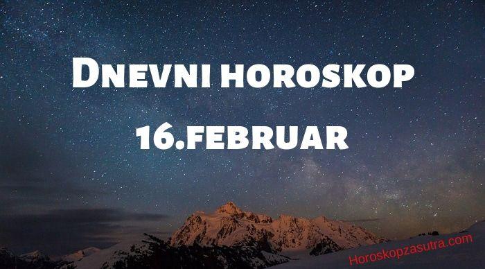 Dnevni horoskop za 16.februar 2020