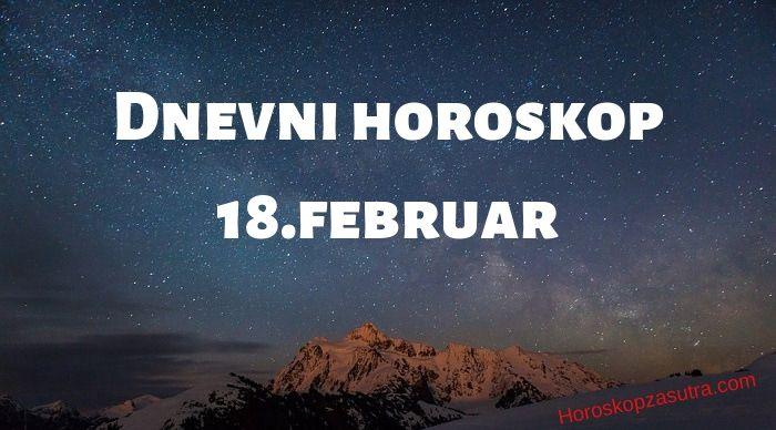 Dnevni horoskop za 18.februar 2020