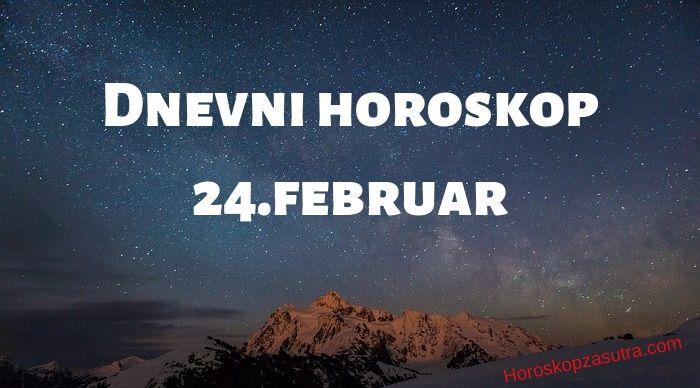 Dnevni horoskop za 24.februar 2020