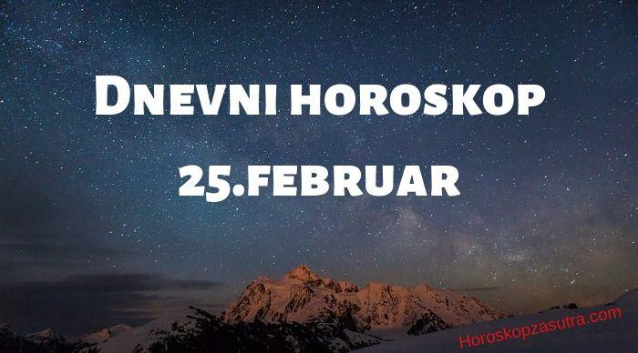 Dnevni horoskop za 25.februar 2020
